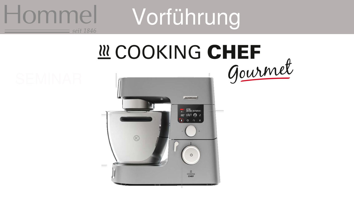 kenwood cooking chef gourmet vorf hrung hommel aschaffenburg. Black Bedroom Furniture Sets. Home Design Ideas